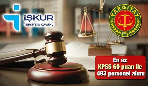 Yargıtay en az İlköğretim mezunu ve personel alım ilanı! Başvuru için son gün