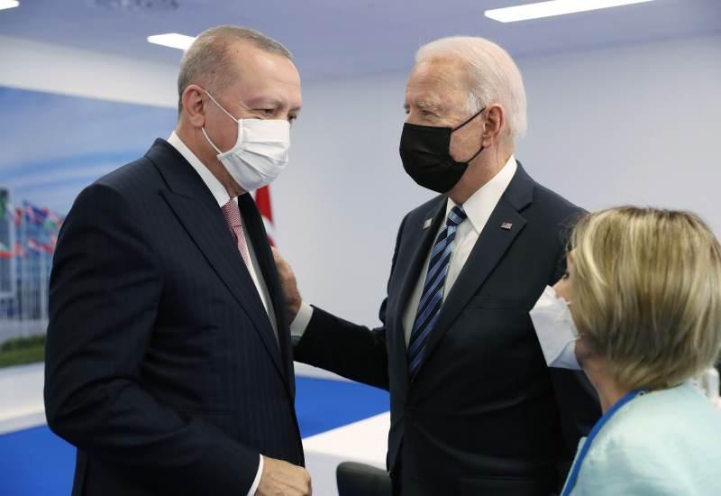 Cumhurbaşkanı Recep Tayyip Erdoğan, Brüksel'de ABD Başkanı Joe Biden ile ilk kez bir araya geldi.