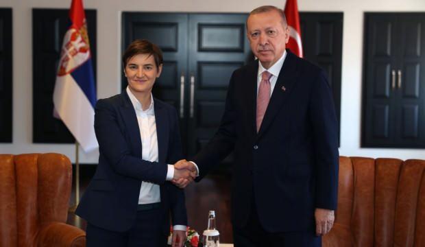Başkan Erdoğan Sırbistan ve Hırvatistan Başbakanı ile görüştü