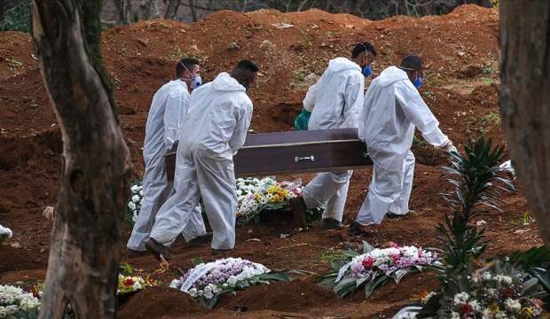 Brezilya'da Kovid-19 nedeniyle hayatını kaybedenlerin sayısı yarım milyonu geçti