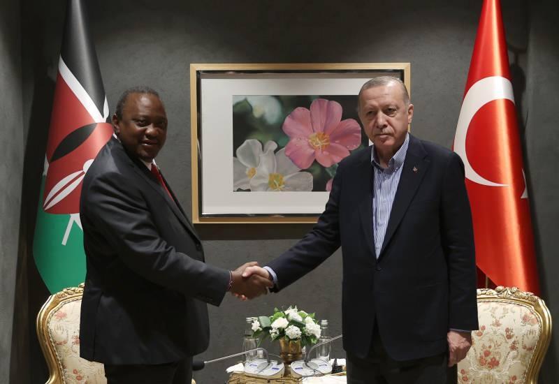 Cumhurbaşkanı Erdoğan, Haiti Cumhurbaşkanı Moise