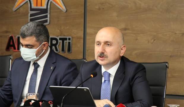 Karaismailoğlu: Kanal İstanbul hedefimiz daha da güçlenecek