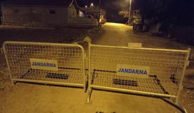 Kütahya'da bir mahalle karantinaya alındı