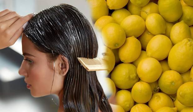 Sirke ve limonun saça faydaları nelerdir? Sirke ve limon saça nasıl uygulanır?