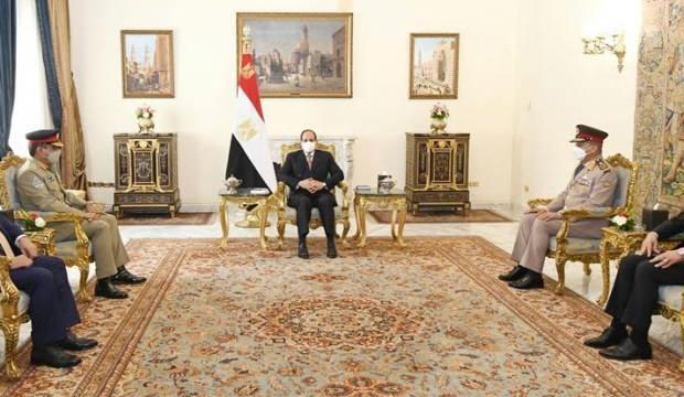 Sisi'den Libya Ulusal Birlik Hükümeti'ne destek mesajı