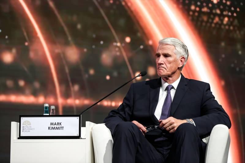 Mark Kimmitt, Antalya Diplomasi Forumu'nda