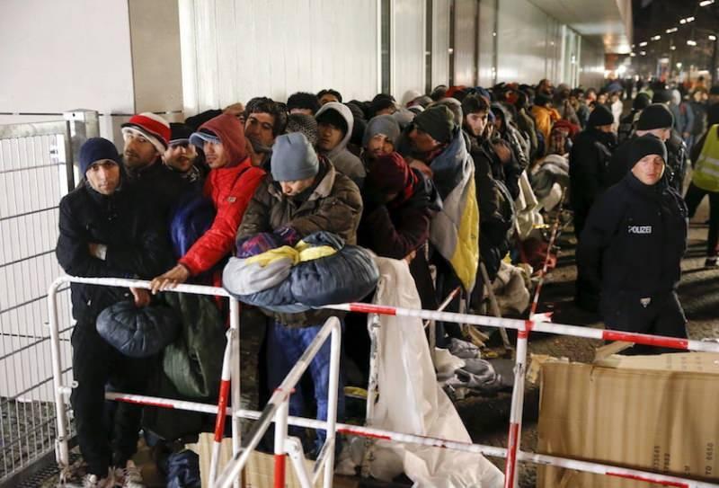 Almanya'daki mülteci kampı
