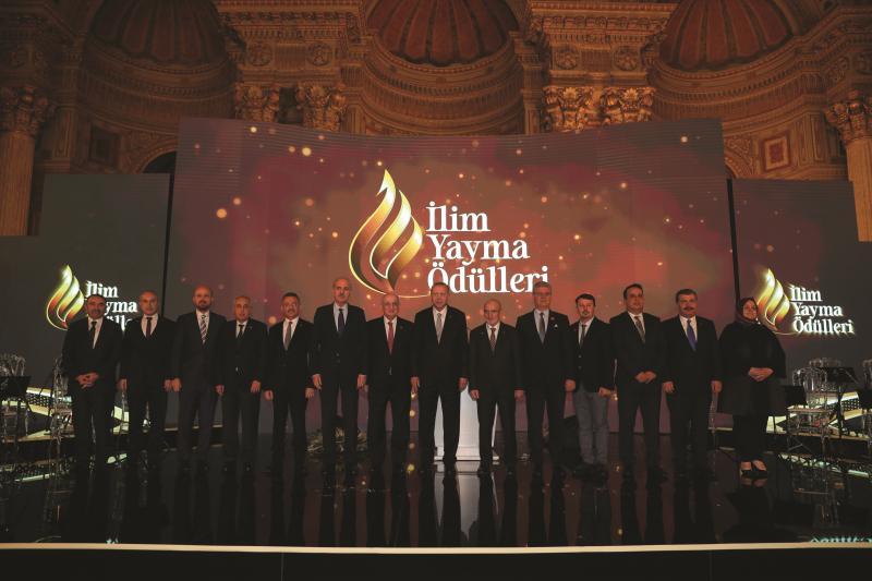 Cumhurbaşkanı Recep Tayyip Erdoğan, 2019 yılındaki ödül törenine katılmıştı.
