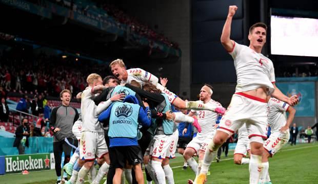 Danimarka'dan müthiş son! 3 puanla gruptan çıktılar