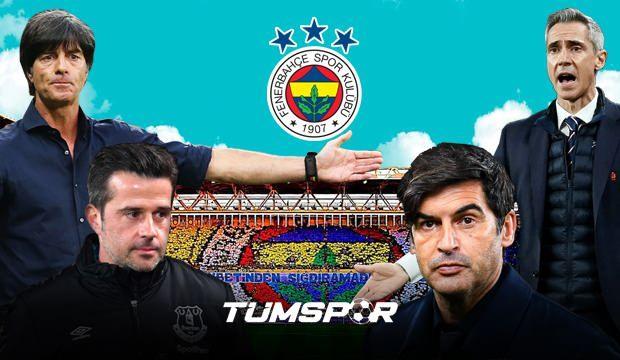 Fenerbahçe'nin yeni teknik direktörü belli oluyor! Sarı Lacivertlilerde imzalar atılıyor...