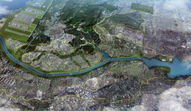 Kanal İstanbul temel atma töreni çalışmaları başladı