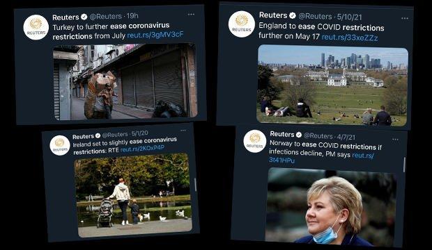 Erdoğan'ın açıkladığı kararlar sonrası Reuters'tan Türkiye ile ilgili kirli operasyon