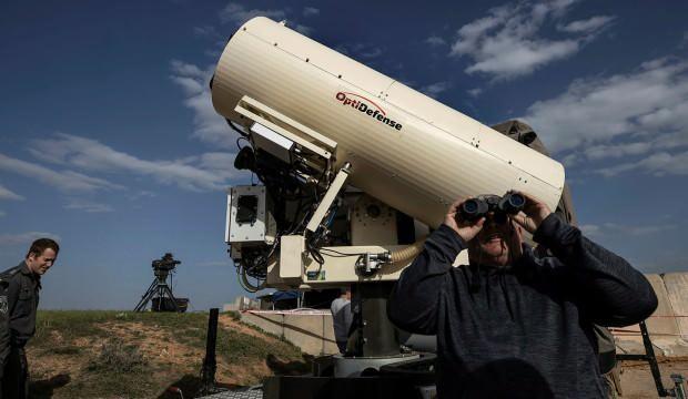 İsrail, İHA'ları vuracak lazer silahını test etti