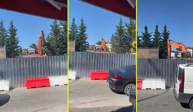 CHP'li İBB'den ağaç kıyımı! Transplantasyon aracı ile sökmek yerine kırarak yok ettiler