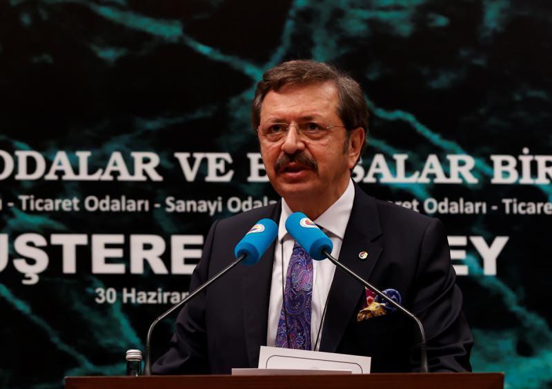 TOBB Başkanı Rifat Hisarcıklıoğlu