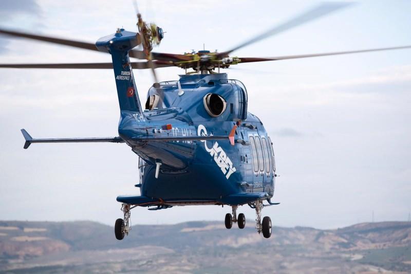 Gökbey helikopterinin özellikleri: Mürettebat: 2.  Yolcu kapasitesi: 12 kişi.  Uzunluk: 15.87 m (52 ft)   Ana rotor çapı: 13.20 m (43 ft)  Azami kalkış ağırlığı: 6.050 kg (13,337 lb)   Motorlar: 2 × LHTEC-CTS800·4A Turboshaft, 1,373 shp her biri.   Standart yakıt tankı: 1020 kg (2248 lbs)