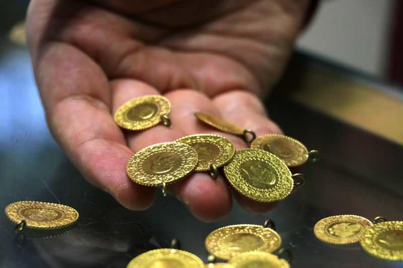Gram altın 502 TL seviyesine kadar geriledi