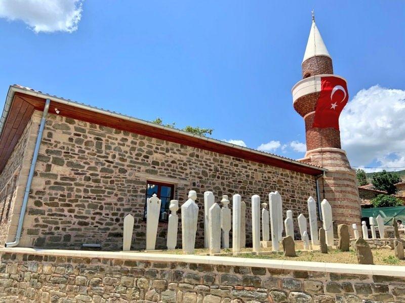 TBMM Başkanı Şentop restorasyonu tamamlanan tarihi Güzelköy Camisi'nin açılışını yaptı