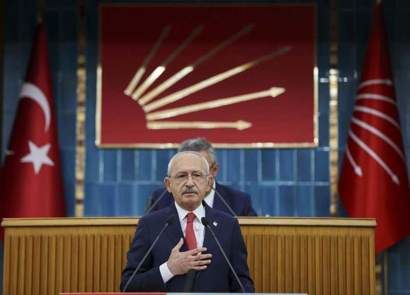 CHP Genel Başkanı Kemal Kılıçdaroğlu, partisinin TBMM Grup Toplantısı'na katılarak konuşma yaptı.