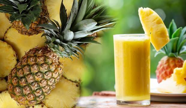 Ananas suyu faydaları nelerdir? Ananas suyu hangi hastalıklara iyi gelir, zayıflatır mı?