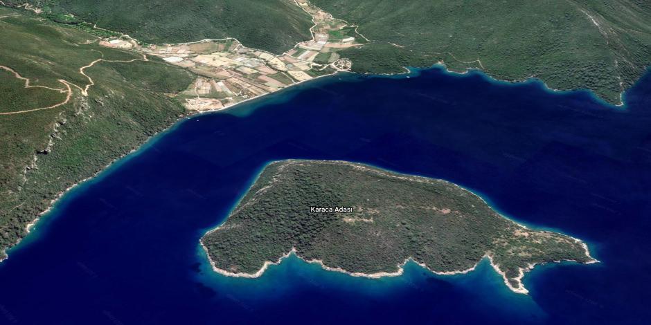 Ege'deki satılık adanın fiyatı 50 milyon lira arttı