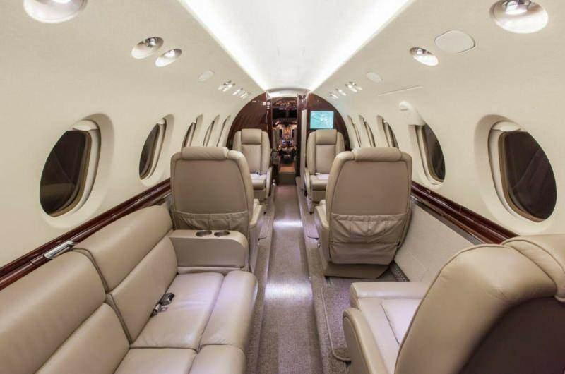 Meral Akşener'in bindiği 'Hawker 800XP Performance' tipi uçak genellikle, ünlü isimler ve işadamları tarafından tercih ediliyor.