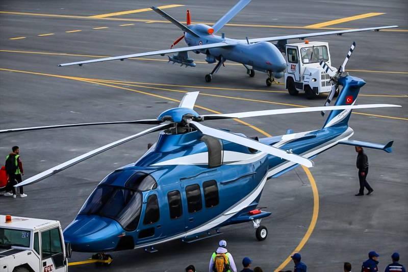 Gökbey helikopteri ve ANKA TİHA