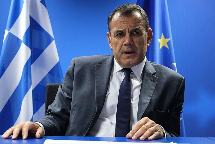 Yunanistan Savunma Bakanı Nikolaos Panagiotopulos.