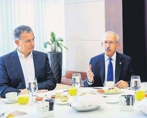 Kılıçdaroğlu FETÖ'nün medya imamı firari Ekrem Dumanlı ile