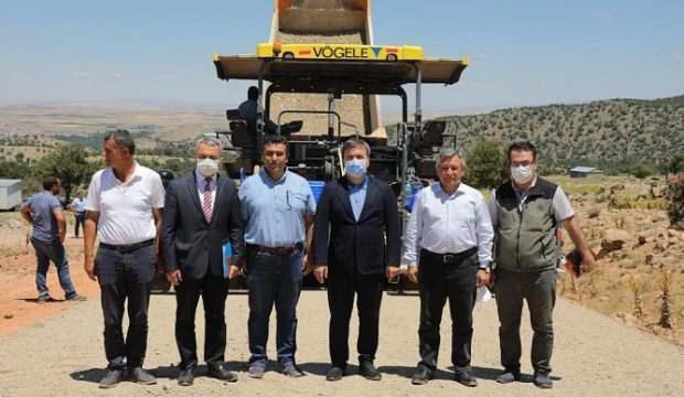 Aksaray'da asfalt çalışmaları aralıksız sürüyor