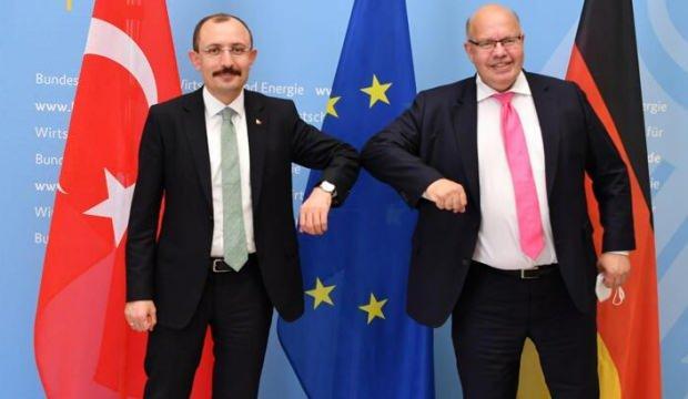 Bakan Muş, Almanya Ekonomi ve Enerji Bakanı Altmaier ile görüştü