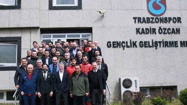 Trabzonspor Kulüp Başkanı Ahmet Ağaoğlu, alt yapının kalbi Kadir Özcan Tesisleri'nde