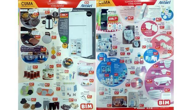 30 Temmuz BİM Aktüel Kataloğu! Stanley termos, buzdolabı, züccaciye ve bebek bakım ürünlerinde..