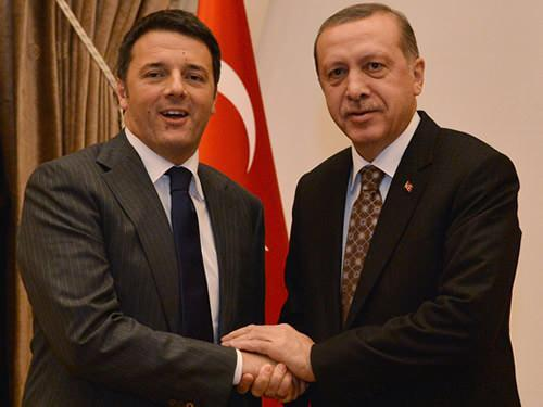 Matteo Renziile Erdoğan