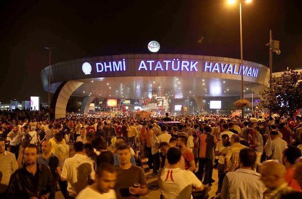 15 Temmuz'da Atatürk Havalimanı