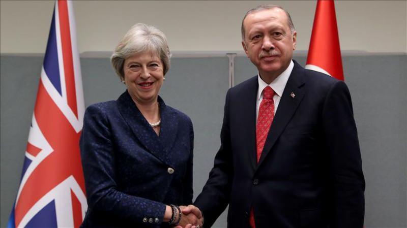 Theresa May ve Erdoğan