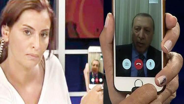 Cumhurbaşkanı Erdoğan - CNN Türk - Face time