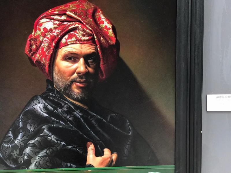 'Türbanlı Erkek' portresi
