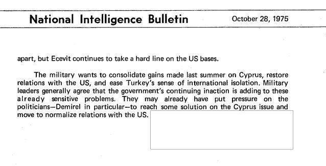 CIA yetkilileri raporda, Erbakan'ın hiçbir şekilde geri adım atmadığını açıklıyor.