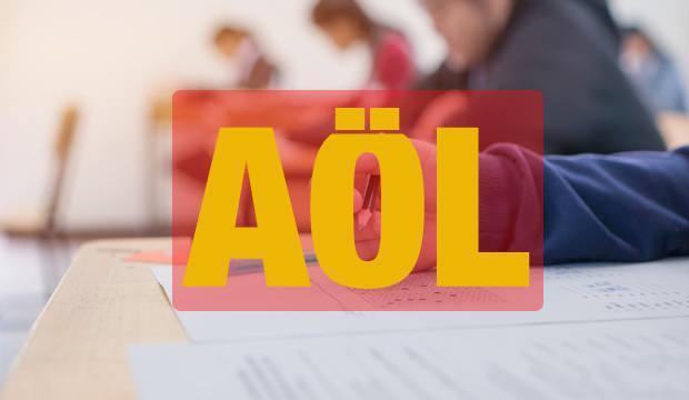 AÖL telafi sınavları yüz yüze mi olacak?  Milli Eğitim Bakanlığı telafi sınavı programını yayınladı!