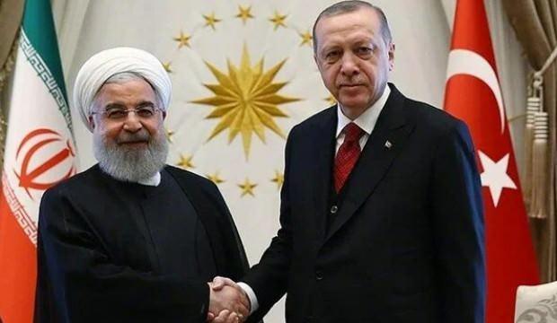 Başkan Erdoğan Ruhani ile görüştü