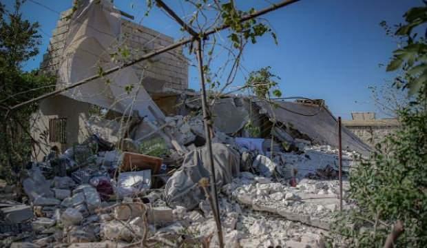 Esed rejimi İdlib'e bayramda da saldırdı