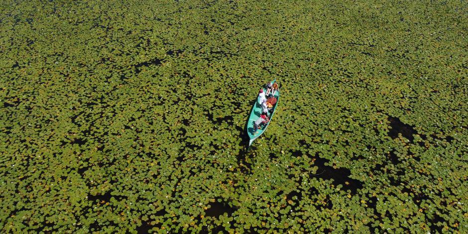 Harika manzara eşliğinde Beyşehir Gölü'nde tekne keyfi