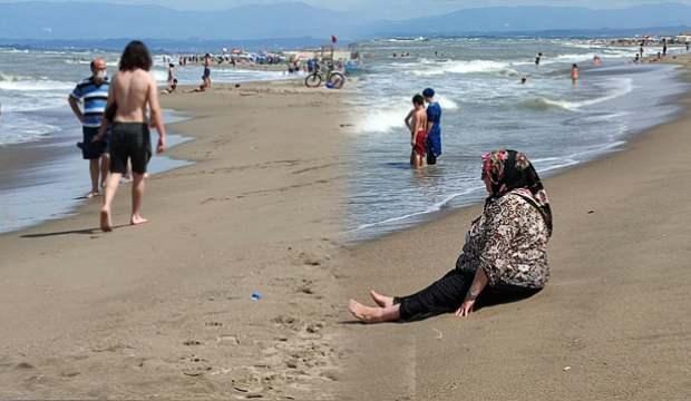 Karasu'da yasak kalktı, vatandaşlar akın etti