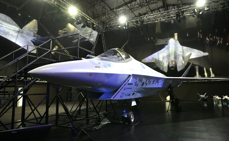 5. nesil yeni savaş uçağı Su-57 Checkmate