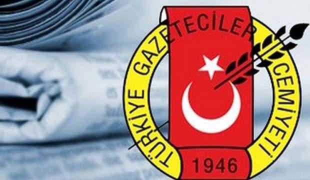 Türkiye Gazeteciler Cemiyeti, paniğe kapılan fondaş medyaya sahip çıktı