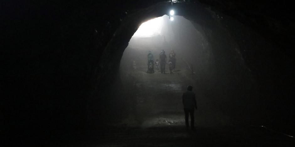 Tuz heykelleri ve farklı havasıyla Çankırı Tuz Mağarası