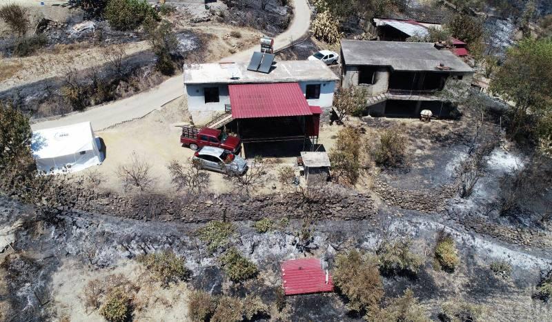 Adana'nın Aladağ ilçesinde 3 gün süren orman yangınında kimi vatandaşın evi, kimisinin de hayvanları yandı. Geriye ise ailelerin acılı hikayeleri, küle dönmüş evler ve orman kaldı.