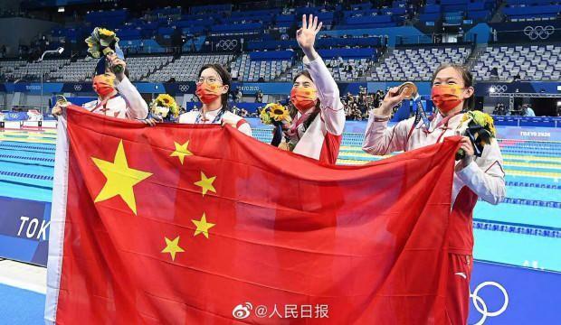 4x200 serbest bayrakta Çin'den dünya rekoru