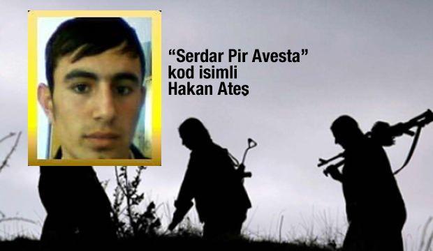 Serdar Pir Avesta kod adı terörist Hakan Ateş